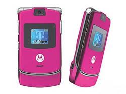 Motorola V3I Pink SIM Unlock Code